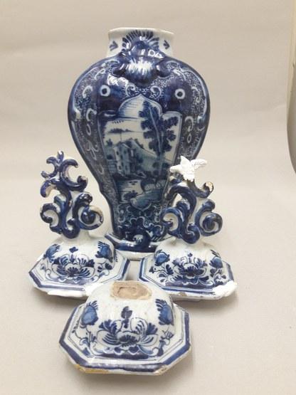 Restauratie Delfts aardewerk
