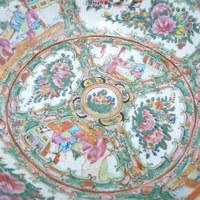 Restauratie antieke gekleurde porseleinen sier kom 4.jpg